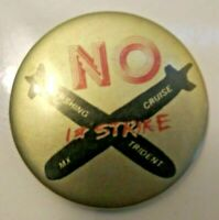 No First Strike Collectible Pin Pershing Cruise MX Trident Donnelly Colt 1983