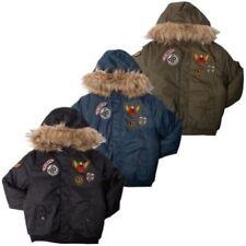 Abrigos y chaquetas de niño de 2 a 16 años caqui