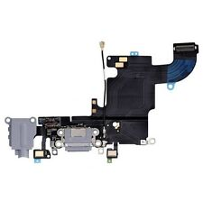 "Apple iPhone 6S 4.7"" USB Charging Port Dock Audio Headphone Flex Cable Gray New"