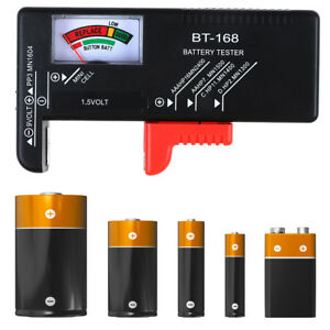 NEU LCD Battery Tester Volt Checker For 9V 1.5V AA AAA Cell BT-168D Useful Z.fr
