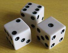 1950s OOAK RARE Illegal Craps Dice Professional Gambler Mafia Mafioso 246-246