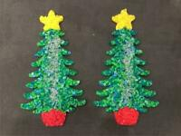 COLLECTIBLE Melted Plastic Popcorn CHIPS CHRISTMAS TREE LOT DECORATION  GREETER