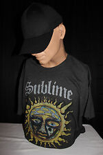 Sublime-Logo Stamp Sun Unisex T-Shirt - Officially-Licensed