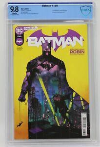 Batman (2016) #106 Jorge Jimenez Cover A CBCS 9.8 Blue Label White Pages Tynion