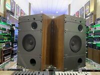 WHAFERDALE MACH 3 Speakers Vintage 2 Way 100 Watts RMS 100% Working Good Look