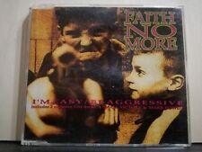 FAITH NO MORE - I'M EASY - BE AGGRESSIVE - + 2 TRACKSLIVE - cds slim case 1992