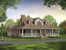 Schönes Landhaus mit Garage - kanadisch/amerik. Holz-Haus, ab 315 m²