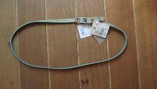 Ceinture Sessun 104cm T.L  neuve étiquettes cuir 2 couleurs prix initial 59€.