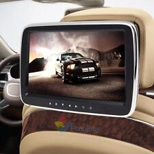 "10"" HD Digitl LCD Screen Car Headrest Pillow Monitor MP5 Player IR/FM Game Media"