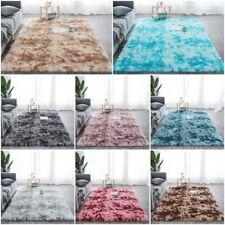 Fluffy Area Rugs Large Bedroom Room Floor Carpet Mat Grey Anti-Slip 200x300CM UK