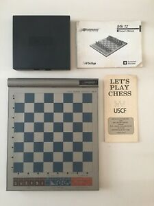 Vintage 1986 Kasparov Electronic Chess Computer MK 12 SciSys Working tested Game