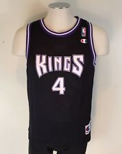 VTG Champion Chris Webber Jersey Sacramento Kings Youth Large 14-16 NBA Black