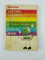 Radio Shack Getting Started with Color Basic TRS 80 Color Computer Vintage 1981