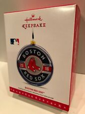Hallmark BOSTON RED SOX Keepsake Ornament BRAND NEW Baseball World Champs 2016