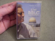 SEALED RARE OOP The Bible soundtrack CASSETTE TAPE Charlton Heston PLANET APES !