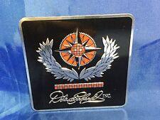 NASCAR DALE EARNHARDT INC Embossed Logo PEEL N STICK Medallion NEW!