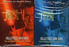 Star Wars Young Jedi CCG (Decipher):Darth Maul/Jedi Council Decks. In Shrink!