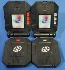 (2) Spy Gear Video Walkie Talkies 2-Way Audio & Video Transmission Ninja Gear.