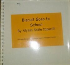 Biscuit Goes to School by Alyssa Capucilli - in Braille for the Blind Children