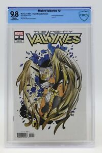 Mighty Valkyries (2021) #2 Peach Momoko Variant CBCS 9.8 Blue Label White Pages