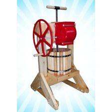 Happy Valley Ranch Pioneer Cider Press Grinder Apple Fruit w/ motor wheels MORE