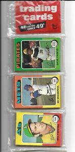 1975 Topps Baseball Rack Pack