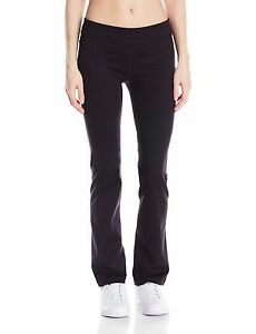New Calvin Klein Performance Women's Stretch Yoga Bootleg Pants PF5P7776 Black S