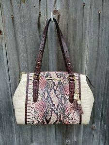 NWT Brahmin Alice Pink Collins. Retail $365.