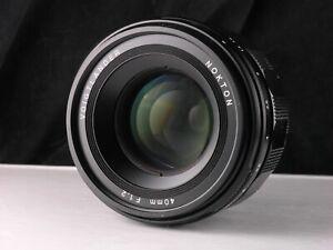 Voigtlander 40mm f1.2 lens for Sony FE cameras