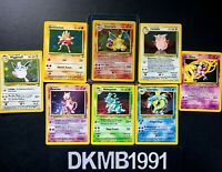 BASE SET 2 Pokemon card bundle choose card  Holo Rare Common Charizard - singles