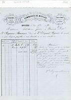 Dépt 88 - Provenchères -  Petite Entête Commerce de Meules du 30/09/1878