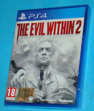 The Evil Within 2 - Sony Playstation 4 PS4 - PAL New Nuovo Sealed