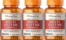 3  MULTI ENZYMES FORMULA  120 TABLETS, FOOD INTOLERANCE AND DIGESTION