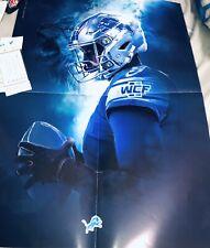 Matthew Stafford Poster 16x20 Program/roster 10/20/19 Detroit Lions Vs Vikings