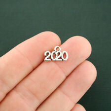 12 Year 2020 Charms Antique Silver Tone - Sc7520