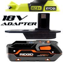 RIDGID Battery Adapter to Ryobi 18v One+ Works with Ryobi 18v One+ Tools