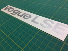 Range Rover Vogue LSE Classic tailgate restoration decals stickers graphic