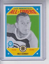 16/17 OPC Boston Bruins Milt Schmidt All-Timers card #677