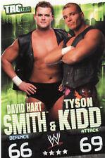 WWE Slam Attax Evolution Smith & Kidd Tag Team Card