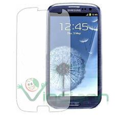 2X Pellicola protettiva trasparente p Samsung Galaxy SIII S3 i9300 triplo strato