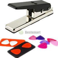 Professional Plectrum Guitar Punch Picks Maker Card Cutter Own Pick DIY Black