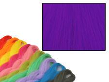 CYBERLOXSHOP PHANTASIA KANEKALON JUMBO BRAID NEON PURPLE HAIR DREADS