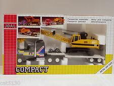 Caterpillar 225 Digging Crane w/ Tractor Trailer - 1/50 - Joal #323 - MIB