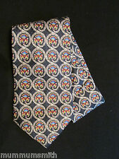 Metropolitan Museum of Art  Men's Tie Circular Fans Floral Neckties Silk