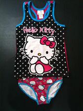 Hello Kitty Underwear & Singlet Set Size 8 to 10 New Girls Brief Camisole B03