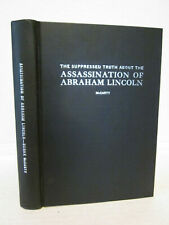 Abraham Lincoln Assassination Suppressed Truth 1964 Book McCarty Surratt Theory