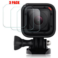 3 Pack Tempered Glass Screen Protector for GOPRO Hero5 Hero4 Hero Session Camera