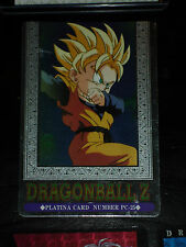 DRAGON BALL Z GT DBZ HERO COLLECTION PART 3 PLATINA CARD PRISM CARTE PC-25 NM-