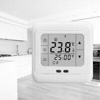 Digital LCD Thermostat Raumtemperaturregler Touchscreen Floureon HY08WE-4 Hot