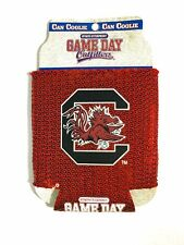 New Official South Carolina Gamecocks sequin Beer Soda can Koozie / Coolie